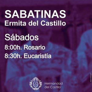 Reanudación Santa Misa Sabatina