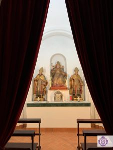 Bendición de la nueva Capilla Sacramental
